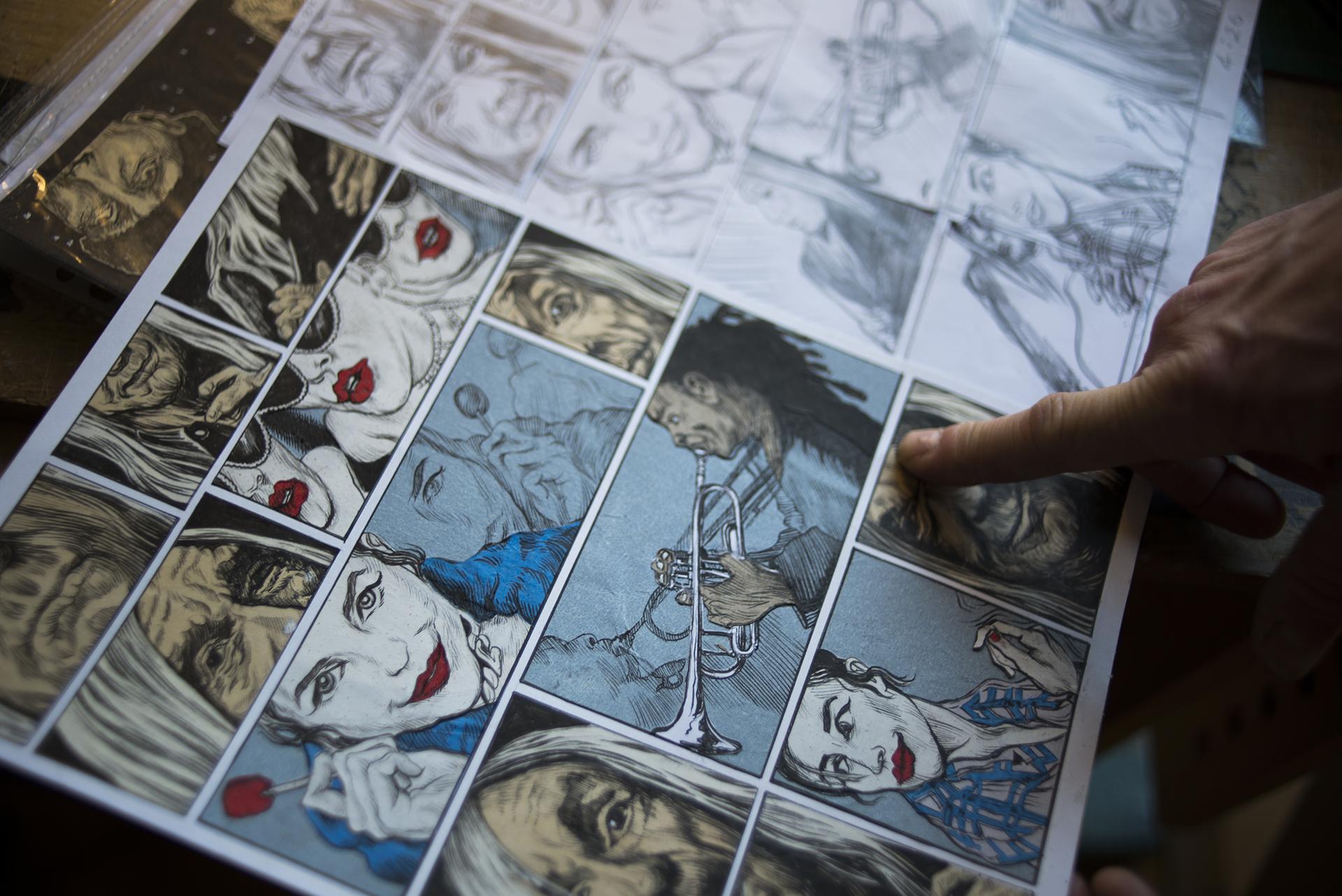Komiks a ilustrace